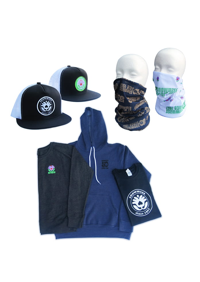 Snowmass 50th Anniversary Merchandise and Apparel