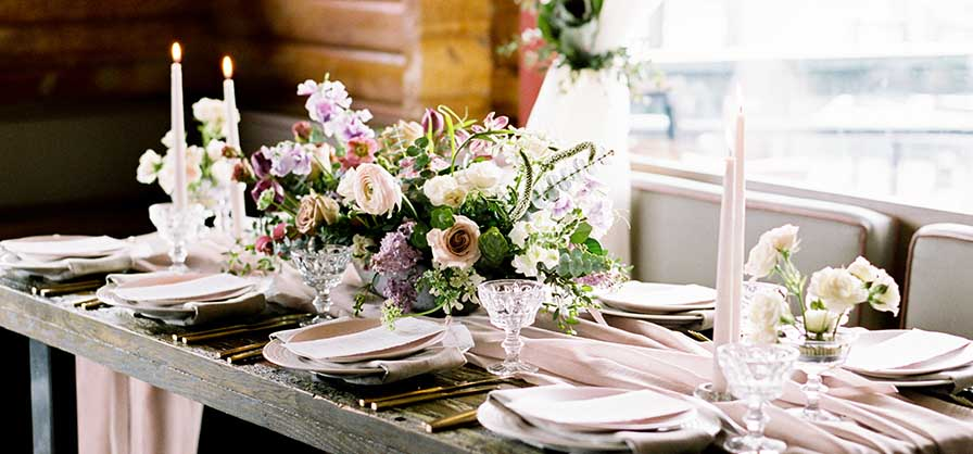 Cloud Nine Wedding Table