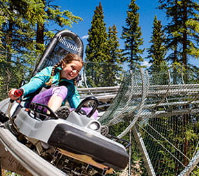 Breathtaker Alpine Coaster in Snowmass Colorado.