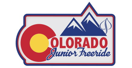 Logo for Colorado Junior Freeride Championships, Aspen Snowmass