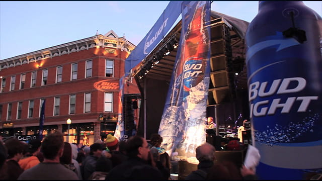Bud Light Sponsored Concert in Aspen