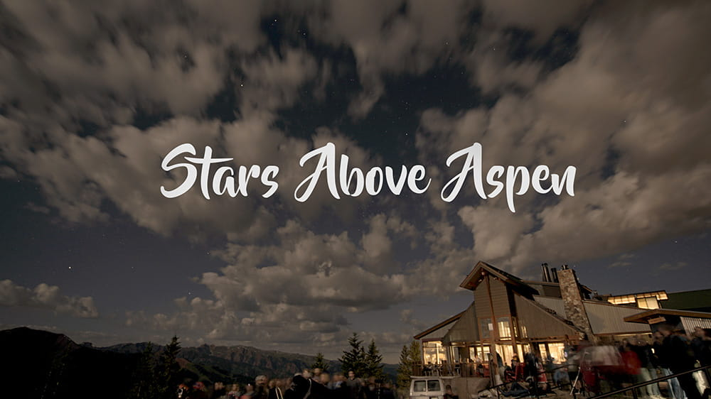 Youtube video of stars above aspen