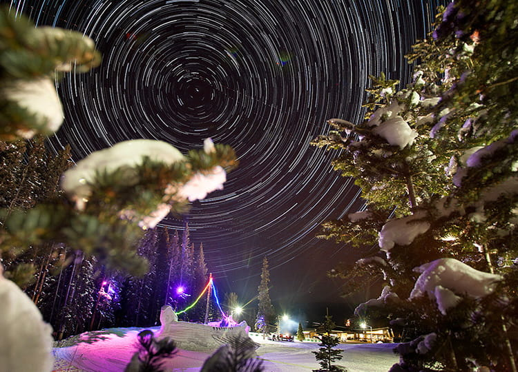 Ullr Night Photo in Aspen