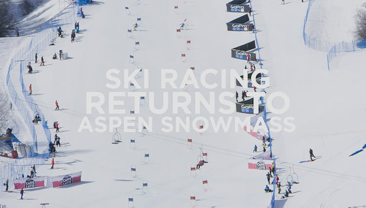 Ski racing returns to aspen highlands and snowmass this winter!