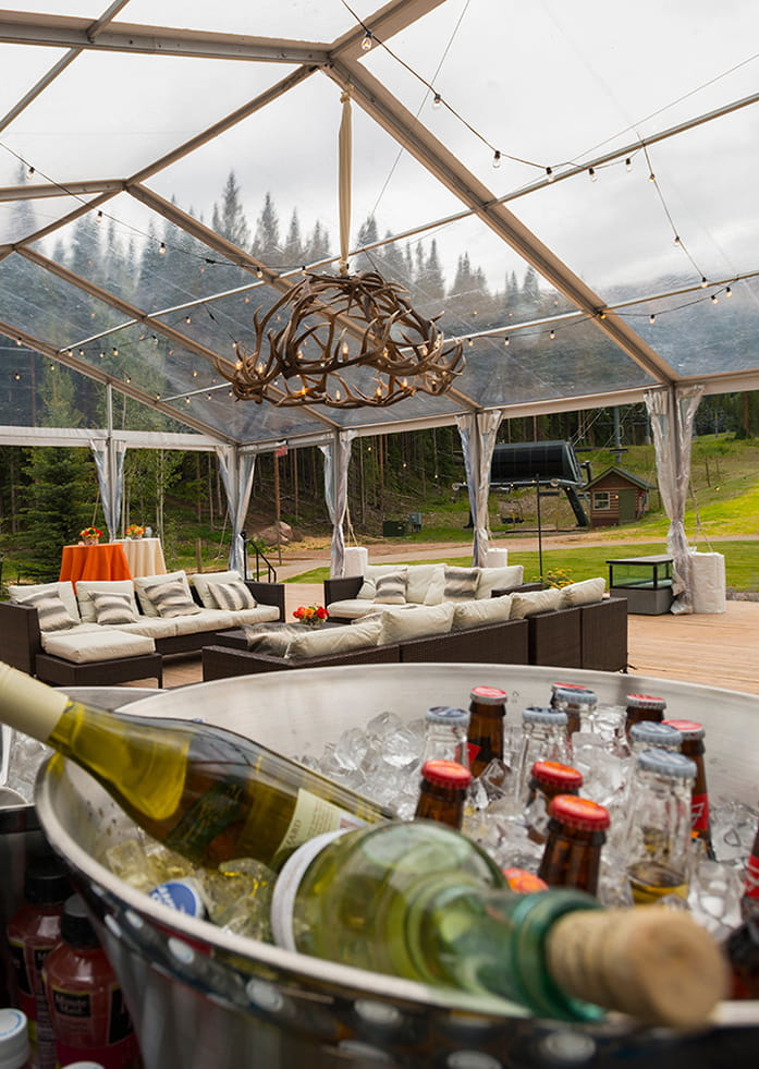 Outdoor Wedding Catering Aspen