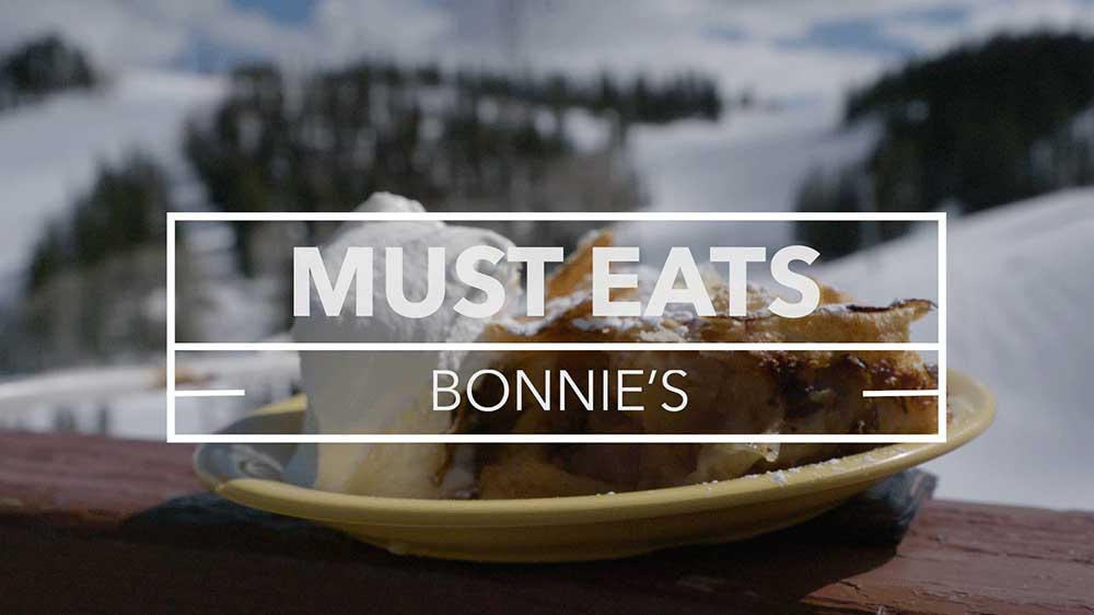 Bonnies Must Eats, Aspen video