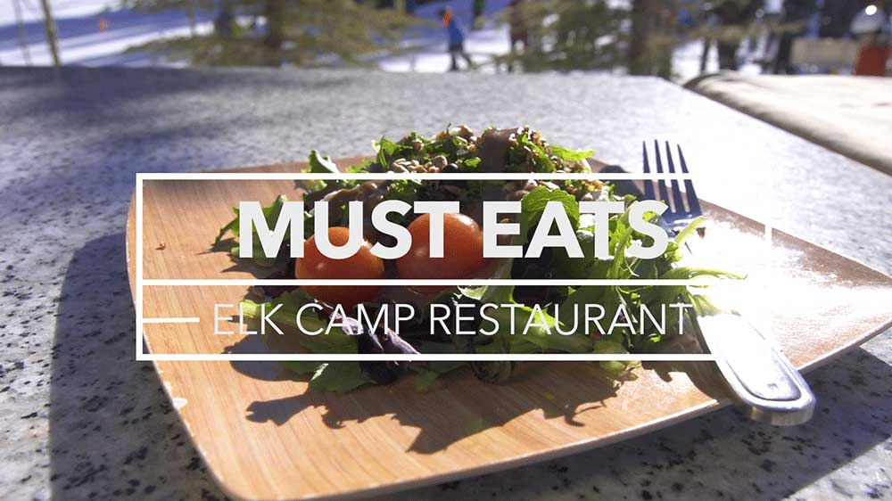 Elk Camp Snowmass Must Eats