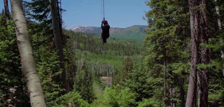 Lost Forest Snowmass, Zipline Promo