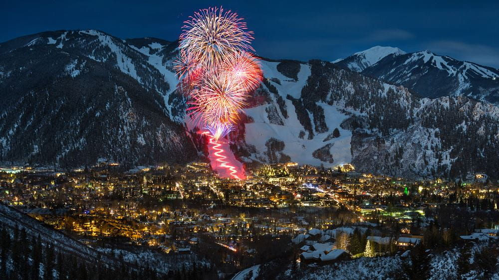 Fireworks Display Aspen