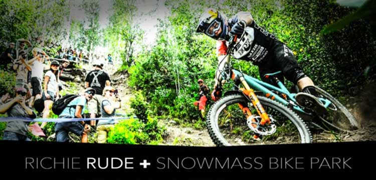 Richie Rude and Snowmass Bike Park