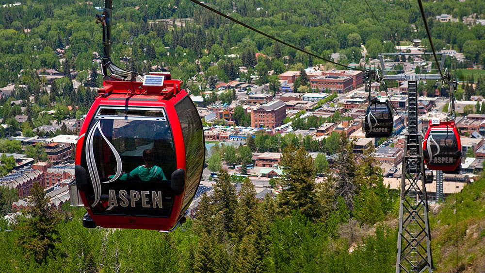 Gondola Ride in Aspen