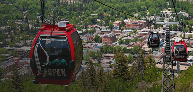Summer Gondola Ride Aspen