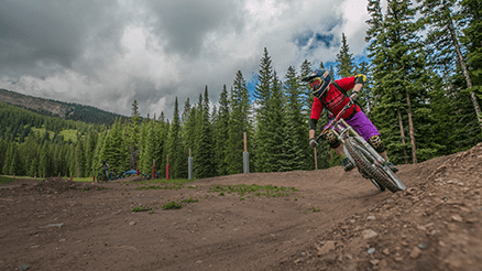 Viking Mountain Biking Course in Aspen