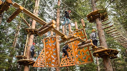 Treeline Trail Challenge Course, Snowmass, CO
