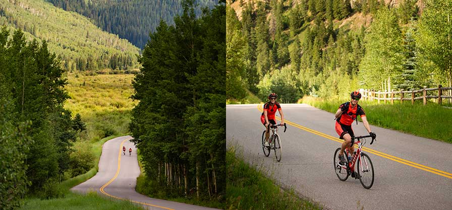Bike to the Maroon Bells - Photo gallery