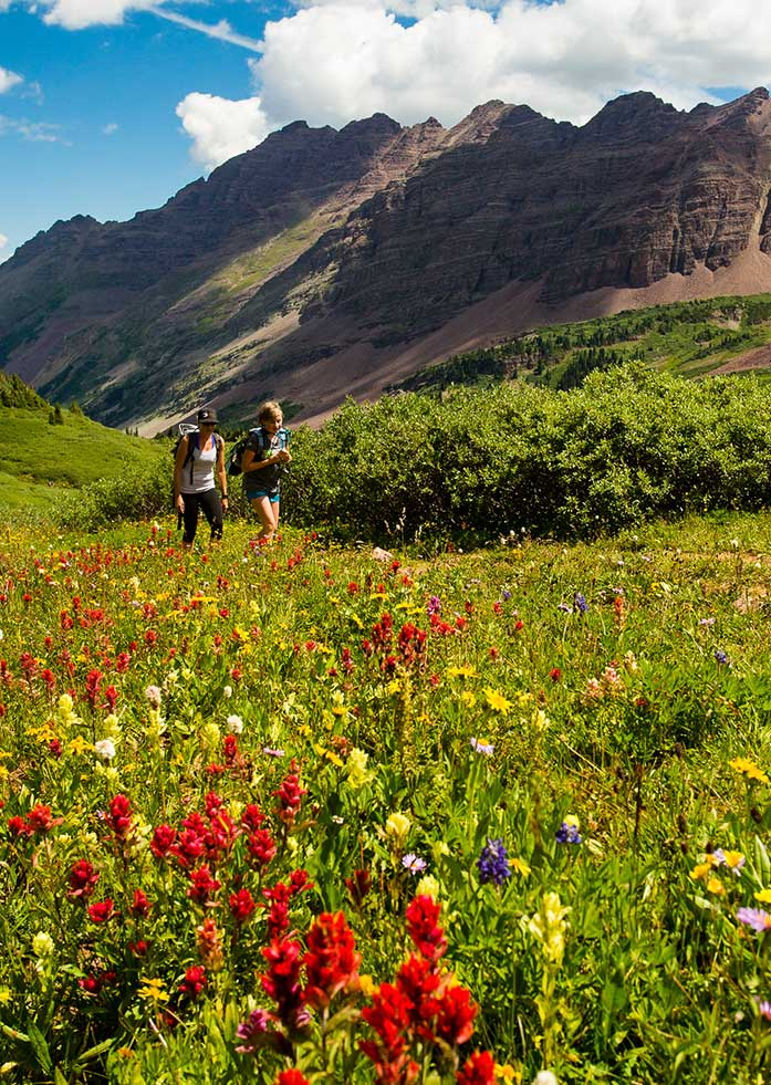 Hike the Maroon Bells area near Aspen - 1