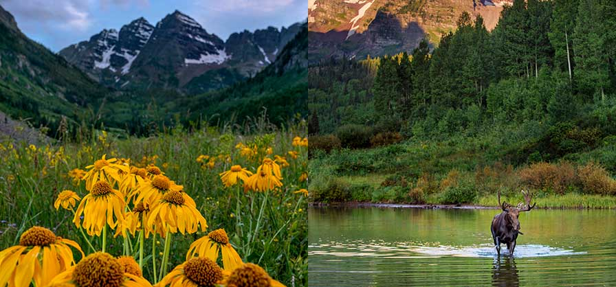 Hike the Maroon Bells area near Aspen - 3