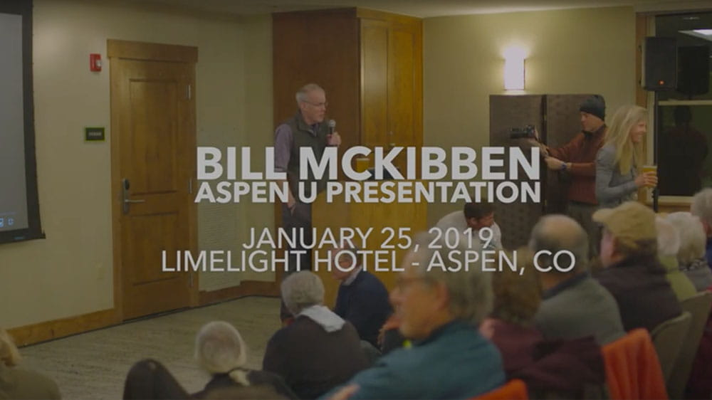 Bill Mckibben video thumbnail