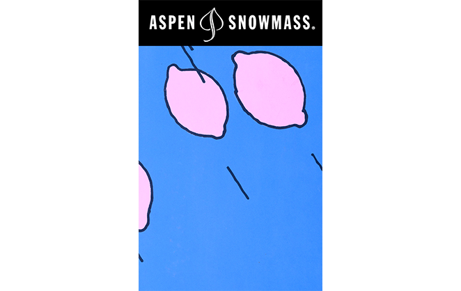 Aspen Snowmass Laura Owens Lift Ticket Art