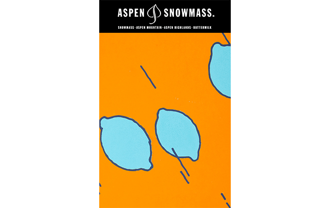 Lift Ticket Artwork for Aspen Snowmass