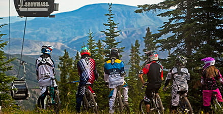 Weekly Enduro Race series at Snowmass Bike Park.