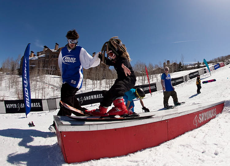 Terrain Park Boot Camp Bud Light Spring Jam Aspen Snowmass