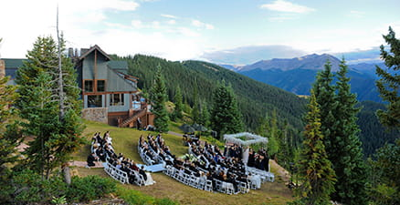 Sundeck Wedding The Little Nell SUNDECK ASPEN MOUNTAIN